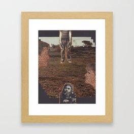 CHOCOZUMA'S REVENGE Framed Art Print