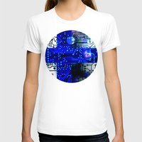 finland T-shirts featuring circuit board Finland by seb mcnulty