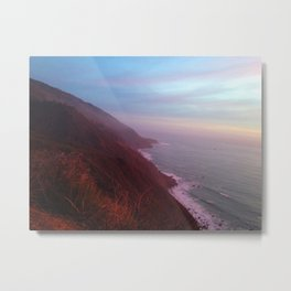Pacific Pacification Metal Print