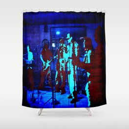 SCM @ The six Pack Pub Shower Curtain