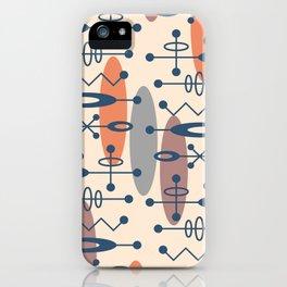 Mid Century Modern Radioactive Surfer 337 iPhone Case
