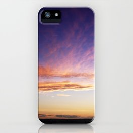 September sunset 1 iPhone Case