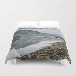 Norway I - Landscape and Nature Photography Duvet Cover