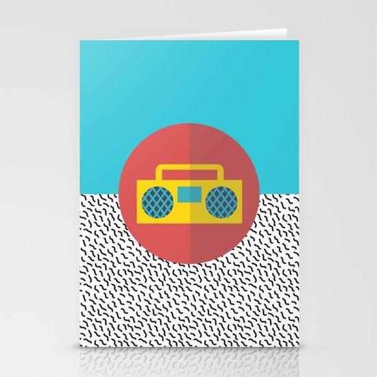 Nice People Like Music Stationery Cards