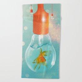 Goldfish Ideas Beach Towel