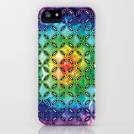 Lysergic Psychedelia iPhone Case