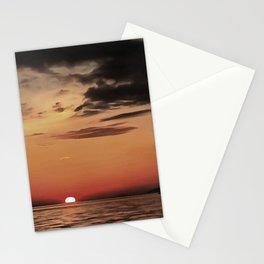 Autumn Evening Sundowner Stationery Cards