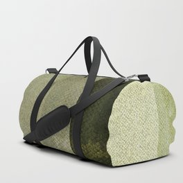 Green Abstract Pattern Duffle Bag