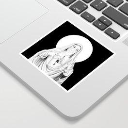 Santa Provocadora Sticker