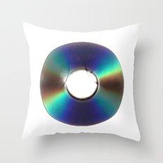 CD Scan Throw Pillow