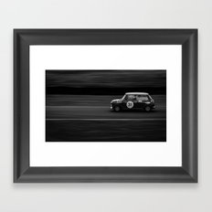 Mini Attack Framed Art Print