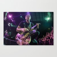 blink 182 Canvas Prints featuring Blink 182 | Mark Hoppus Photo by #KROLICKPHOTO
