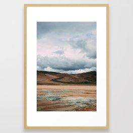 ICELAND ROADS Framed Art Print