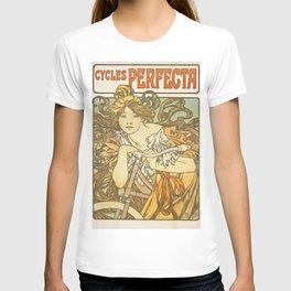 Alphonse Maria Mucha - Cycles Perfecta T-shirt