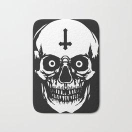 Most Ugly Satanic Skull Bath Mat