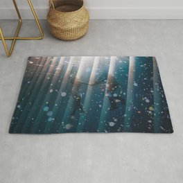 Couple Underwater Rug