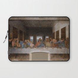Mosaic of the Last supper of Leonardo Da Vinci Laptop Sleeve