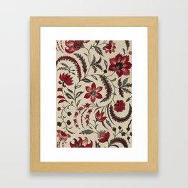 Indian flower Framed Art Print