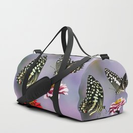 Swallow tail  or Christmas Butterfly Duffle Bag