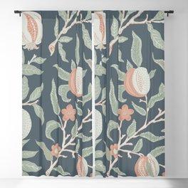 Fruit & Floral Pattern Blackout Curtain