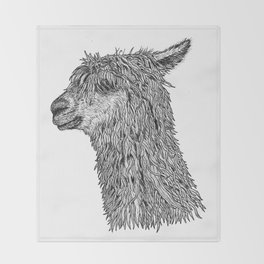 Alpaca Throw Blanket
