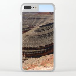 A Meander Of The Goosenecks Clear iPhone Case