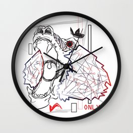 BABA gets me going  Wall Clock