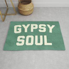 Gypsy Soul Slogan Rug
