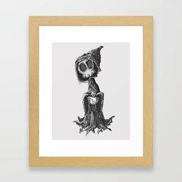 Grim Morning Framed Art Print
