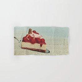 Cherryo - Cherry Cheesecake  Hand & Bath Towel