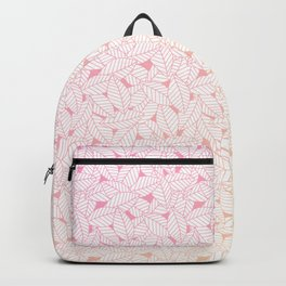 Leaves in Sunset Backpack