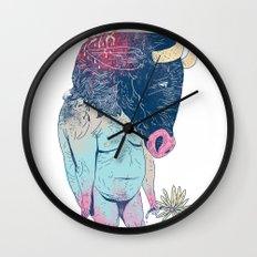 Mr.Minotaur Wall Clock