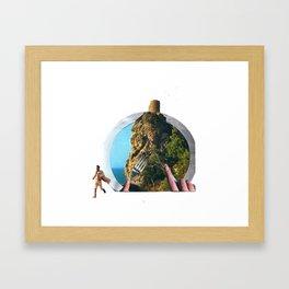 my soup Framed Art Print