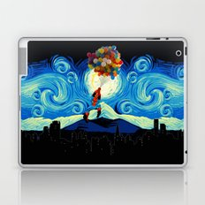 Starry Night Balloons Superhero Laptop & iPad Skin