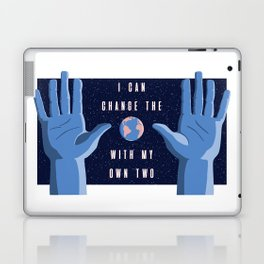 With my own two hands Laptop & iPad Skin