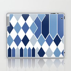 STRIPED DIAMONDS: NAVY Laptop & iPad Skin