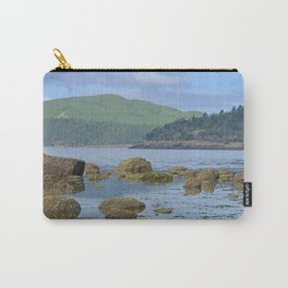 ORCAS ISLAND LOW TIDE MORNING ON TURTLEBACK MOUNTAIN Carry-All Pouch