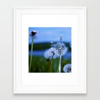 weed Framed Art Prints featuring Weed by Libby Rose