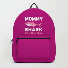 Mommy Shark Backpack
