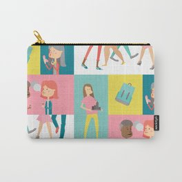 People Panel Carry-All Pouch