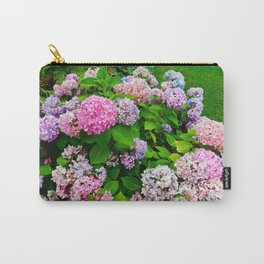 Multi-colored Hydrangeas Carry-All Pouch