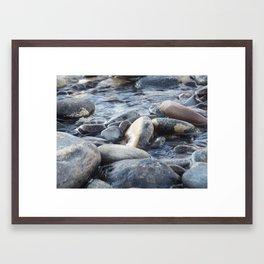 Pebble dash Framed Art Print