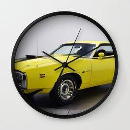 1971 Dodge Charge Superbee Wall Clock