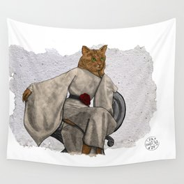 La Grande Dame, Couture Kitty Wall Tapestry