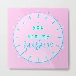 sunshine... Metal Print
