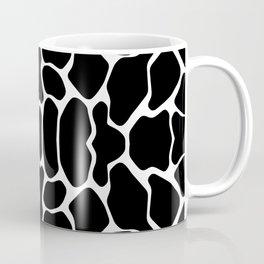 Black Safari Giraffe Coffee Mug