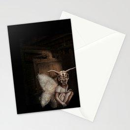baby mothra Stationery Cards
