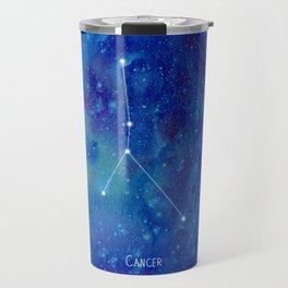 Constellation Cancer Travel Mug