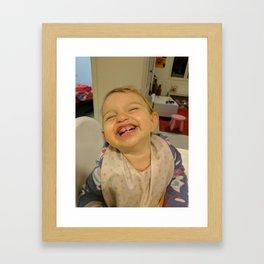 Happy Kid Framed Art Print