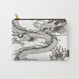 Chinese dragon Illustration Carry-All Pouch